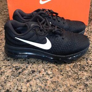 on sale a9b50 0ae4d Nike Shoes | Womens Air Max 2017 849560001 Running Black | Poshmark